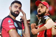 'Aggressive' Virat Kohli's Array of Expressions at IPL 2018