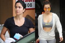 PHOTOS| Katrina Kaif, Malaika Arora Spotted Post Their Workout