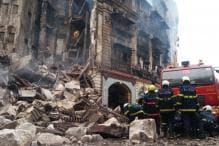 Part of Mumbai Building Collapses After Massive Fire, 2 Fire Officials Injured