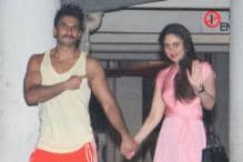Ranveer Singh, Kareena Kapoor Khan at Ritesh Sidhwani's Party