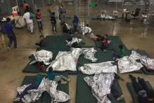 A Look Inside The Texas Border Detention Center in Texas