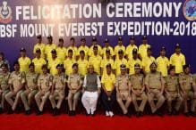 BSF Team Scales Mt Everest 4 Times in 2 Days, Brings 700kg Garbage on the Way Down