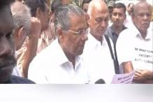 Another CM Protests in Delhi: Pinarayi Vijayan, Kerala MPs Protest Over Coach Factory Project