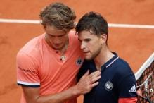 French Open: Thiem Crushes Zverev to Book Semi-final Spot