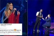 Mariah Carey Helped a Man Propose His Partner in The Middle of Her Show