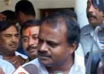 Gowda's son stakes claim, Cong may fall