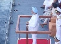 INS Viraat: PM's home at high seas
