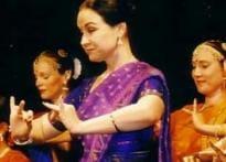 Austrian Radha dances to Indian tunes