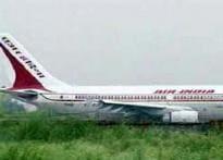Stranded AI plane returns to India