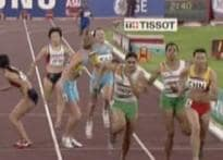 India end athletics events on a high