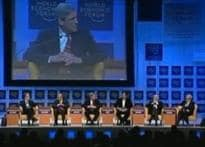 Bigwigs land in Davos for power meet