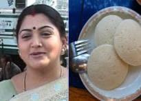 Taste Khushboo, the hot Tamil Idli