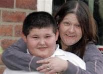 Obese Brit kid's weight sparks debate