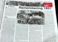 The legacy of first war of Independence