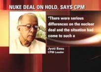I am happy the nuclear deal is dead: Jyoti Basu