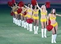 Top political agenda: ban IPL cheerleaders