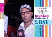 Narendra Kumar's fashion statement of the day