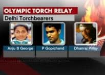 Warming up for torch relay amid debates and protests