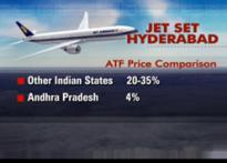 Cheaper ATF sees Hyderabad airport buzzing