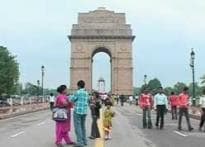 Skipping summer: People enjoy rains in the Capital