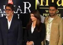 Bachchans visit Hyderabad to promote <i>Sarkar Raj</i>