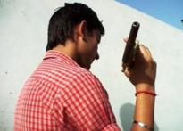 Boys' dangerous toys in India's gun land