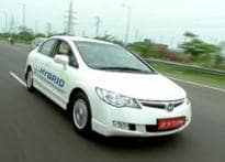 Honda launches India's first hybrid car