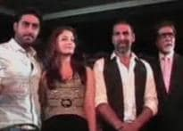 Bachchans to make the world tour truly 'Unforgettable'
