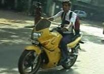 Chennai cops fine minors riding bikes without license