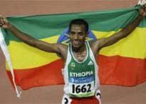 Bekele wins men's 5000m, emulates Dibaba's double