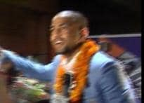 Indian Olympic heroes mobbed</a> | <a href='http://www.ibnlive.com/photogallery/931.html'>Pics</a> | <a href='http://www.ibnlive.com/news/model-vijender-lion-of-bhiwani-readies-for-catwalk/72190-29.html'>Model Vijender</a>