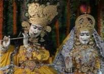 Vrindavan, Mathura and rest of India bathed in Krishna's colours