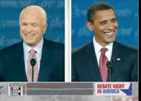 US Pres Debate: Of smirks, smiles and glares