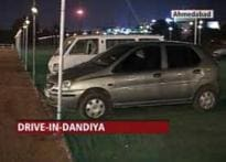 Pay Rs 500 and drive in to see the <i>dandiya</i>