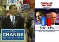 Obama leads McCain in CNN opinion poll