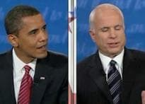 US presidential debate: Smile is the weapon of choice