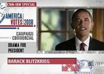 Ad attack: Campaign time finite, Obama's money not