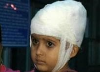 Scary stroll: Girl suffers head injury at DMRC site