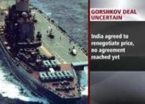 Russia threatens to call off Gorshkov deal
