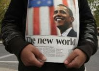 World cheers for change, congratulates Obama