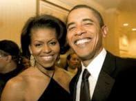 Eyes on: Michelle Obama's wardrobe 'the day'
