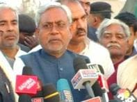 Watch: Nitish Kumar holds cabinet meeting in village