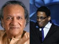 Note for note: Pt Ravi Shankar meets Jazz great Herbie