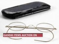 Gandhi's items auctioned, sold and brought back