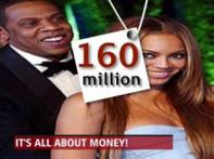 Most paid: Beyonce, Jay Z take home $160 mn