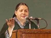 Why is Rajiv widow silent on Karunanidhi, Jaya asks
