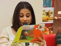Vidya Balan turns storyteller for Gulzar