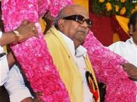Karunanidhi hospitalised for high fever