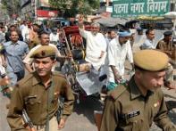 Watch: Nitish at NDA rally, wants Advani as PM