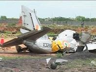 IAF trainer plane crashes in AP, two pilots killed